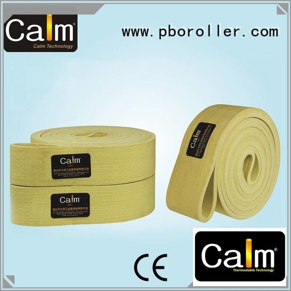 Calm Industrial Felt Brand belt tempseamless low felt belt 600°c