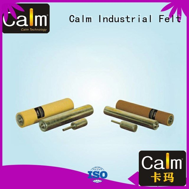 gravity iron roller aluminum conveyor rollers Calm Industrial Felt