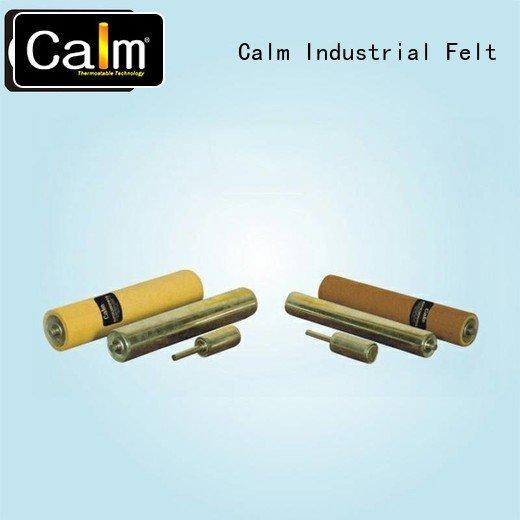 Calm Industrial Felt aluminum conveyor rollers gravity roller iron iron