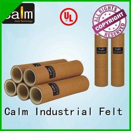 Calm Industrial Felt black felt roll tempresistance 280°c felt