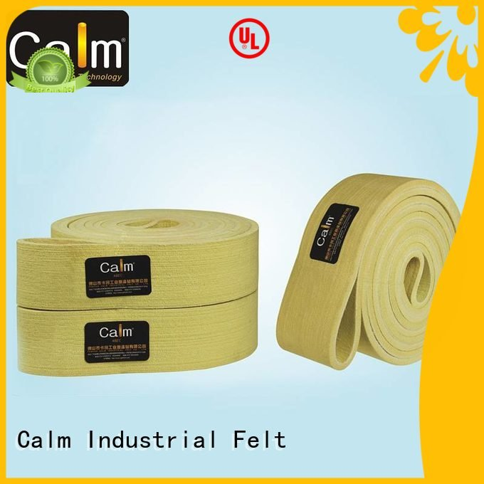 tempseamless 280°c felt belt conveyor Calm Industrial Felt