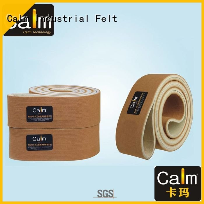 OEM industrial conveyor manufacturers belt temperature tempseamless felt belt