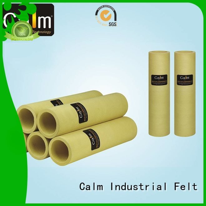Custom middletemp felt roll 280°c black felt roll