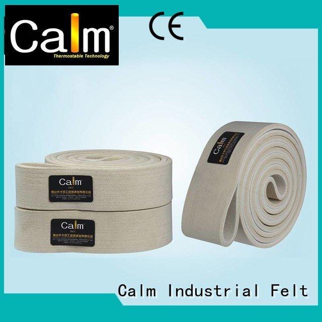 Calm Industrial Felt Brand middle ring seamless felt belt