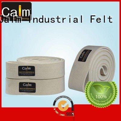 Calm Industrial Felt Brand ring low belt felt belt 480°c