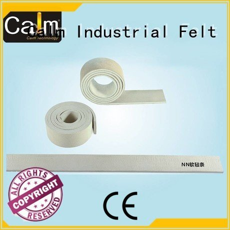 Calm Industrial Felt Brand 280° rack thin felt strips packing felt