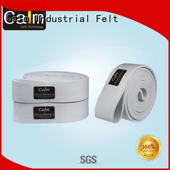 Calm Industrial Felt Brand conveyor industrial conveyor manufacturers 280°c tempseamless