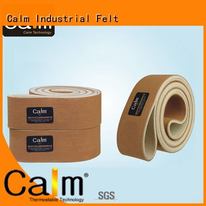Custom felt belt tempseamless middle temperature Calm Industrial Felt