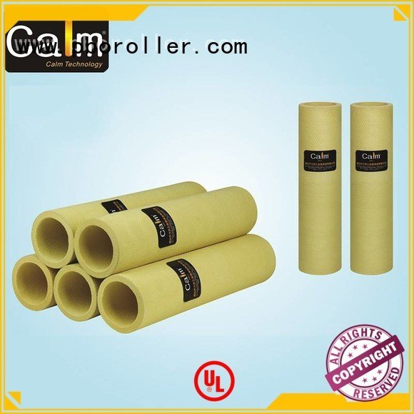 black felt roll middletemp 280°c felt roll Calm Industrial Felt Brand