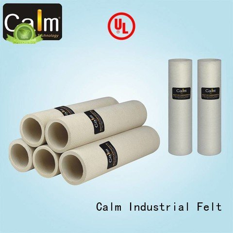 Calm Industrial Felt Brand pbokevlar600°c tempresistance felt black felt roll