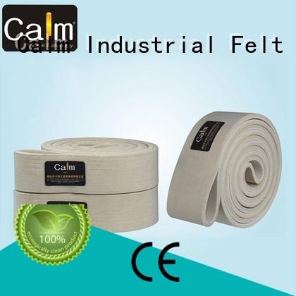 Calm Industrial Felt Brand ultrahigh 280°c industrial conveyor manufacturers middle