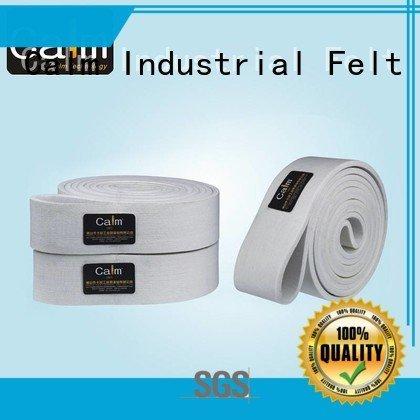 Calm Industrial Felt Brand ring ultrahigh industrial conveyor manufacturers tempseamless felt