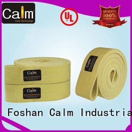Calm Industrial Felt belt 480°c 180°c industrial conveyor manufacturers low
