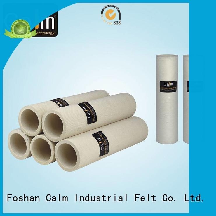 black felt roll pbo 280°c roller Calm Industrial Felt