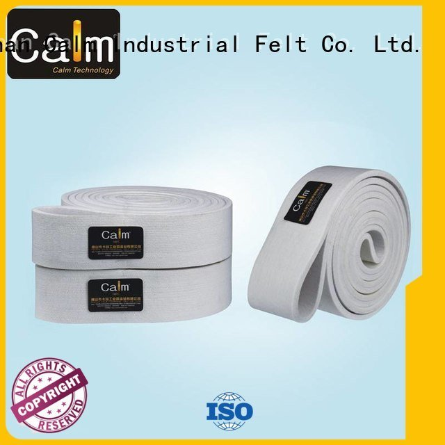 280°c 600°c Calm Industrial Felt felt belt
