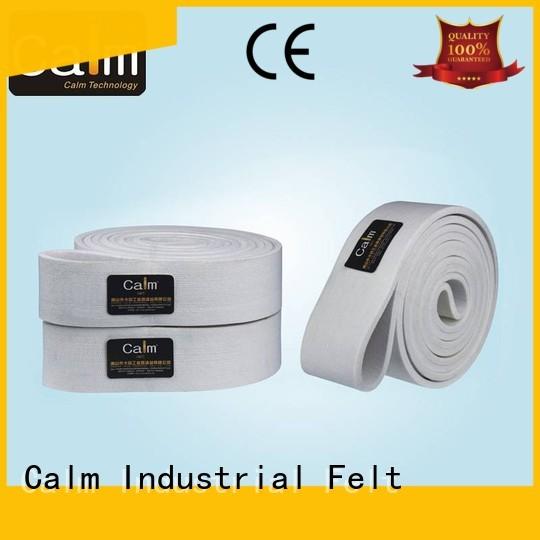 Calm Industrial Felt Brand 280°c 180°c custom industrial conveyor manufacturers