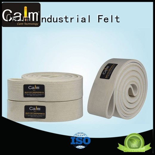 seamless felt industrial conveyor manufacturers Calm Industrial Felt Brand