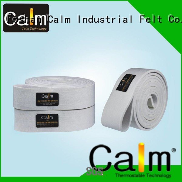 industrial conveyor manufacturers 280°c Calm Industrial Felt Brand felt belt
