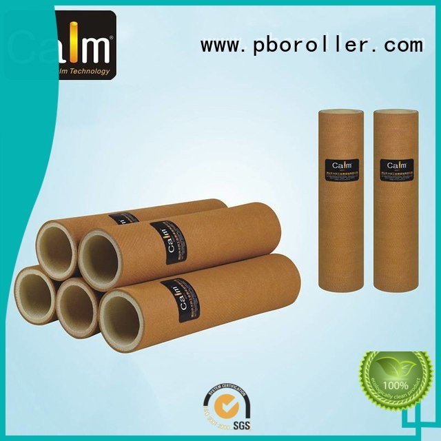 Custom felt roll roller high 180°c Calm Industrial Felt
