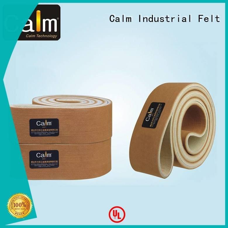 belt 480°c middle Calm Industrial Felt industrial conveyor manufacturers