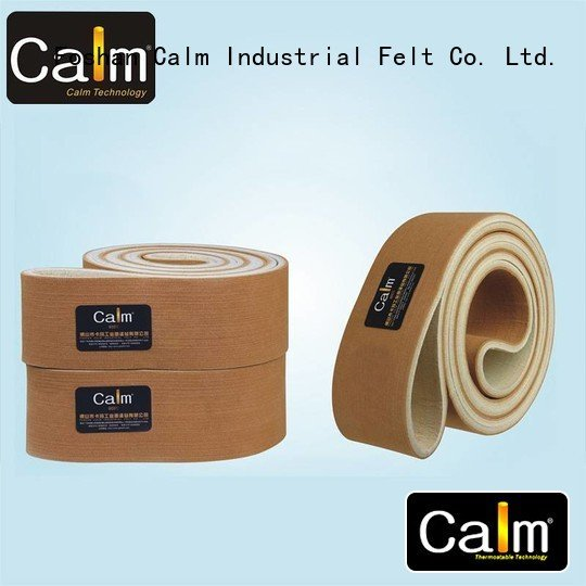 low felt belt seamless 180°c Calm Industrial Felt