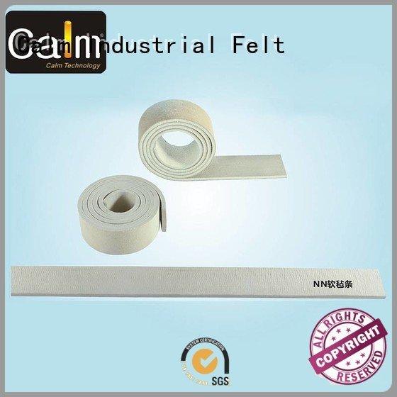 Hot thin felt strips iron side nomex Calm Industrial Felt Brand