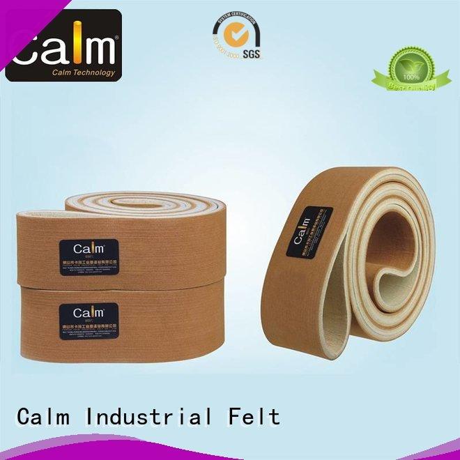 Calm Industrial Felt Brand ultrahigh industrial conveyor manufacturers conveyor tempseamless