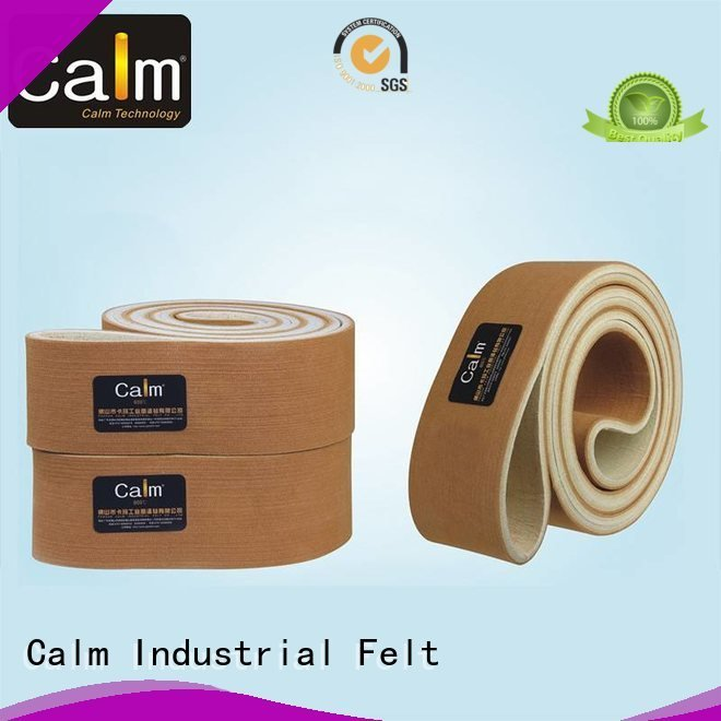 Calm Industrial Felt Brand ultrahigh industrial conveyor manufacturers conveyor tempseamless