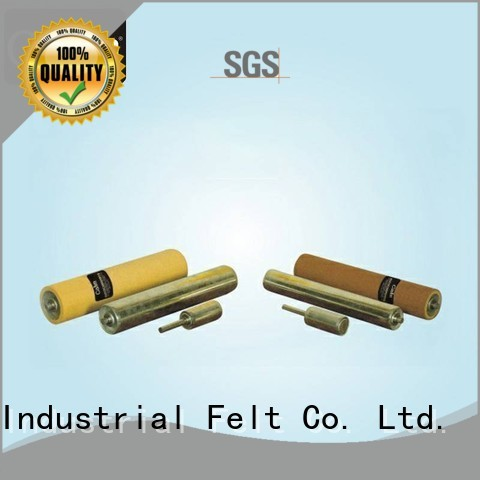 Hot aluminum conveyor rollers iron Calm Industrial Felt Brand