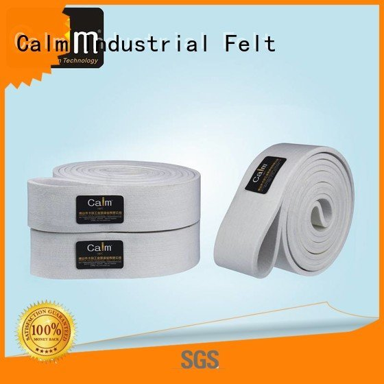 Hot industrial conveyor manufacturers 600°c conveyor ring Calm Industrial Felt Brand