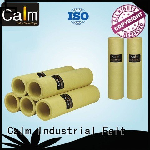 pe high felt roll 480°c Calm Industrial Felt