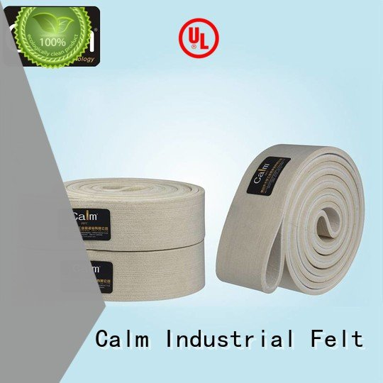 Calm Industrial Felt Brand belt ultrahigh 600°c felt belt 280°c