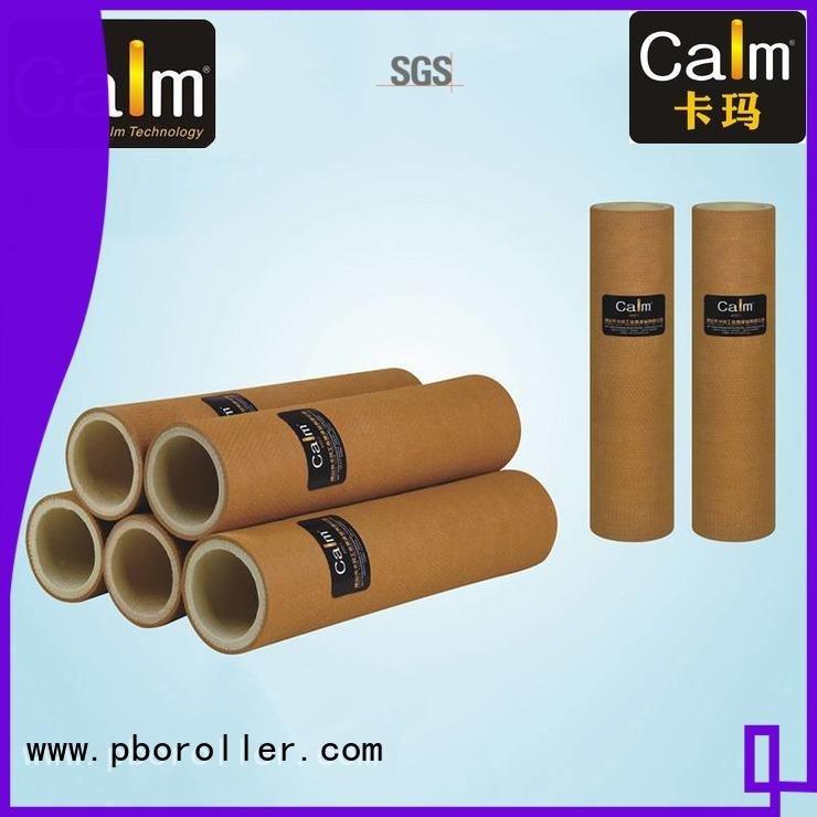 black felt roll roller 180°c Calm Industrial Felt Brand
