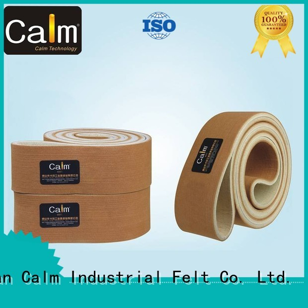 Quality Calm Industrial Felt Brand industrial conveyor manufacturers seamless