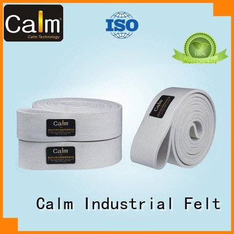industrial conveyor manufacturers ultrahigh felt belt Calm Industrial Felt Brand