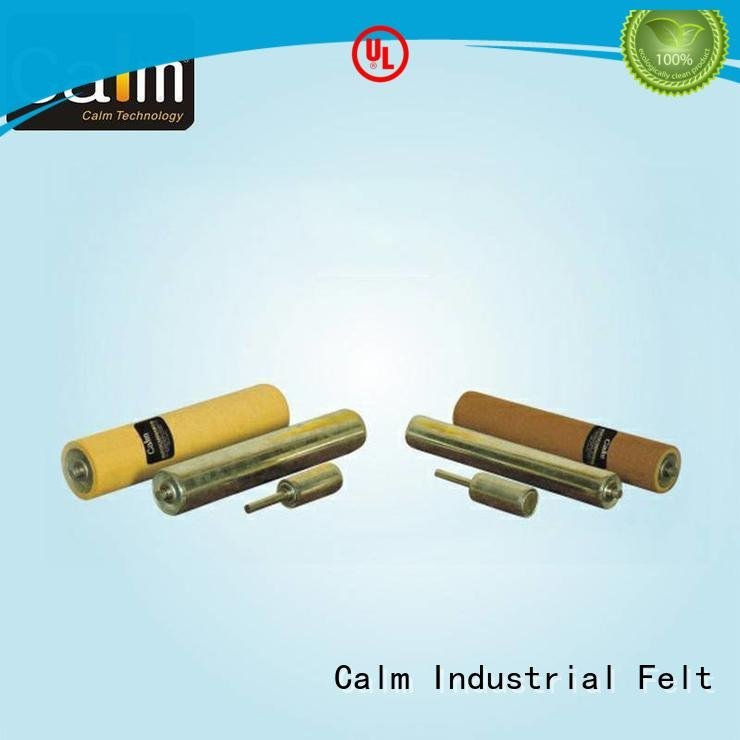Quality aluminum conveyor rollers Calm Industrial Felt Brand iron gravity roller conveyor