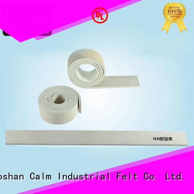 thin felt strips protection two Calm Industrial Felt Brand