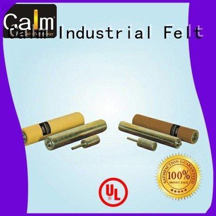 aluminum conveyor rollers iron gravity Calm Industrial Felt Brand