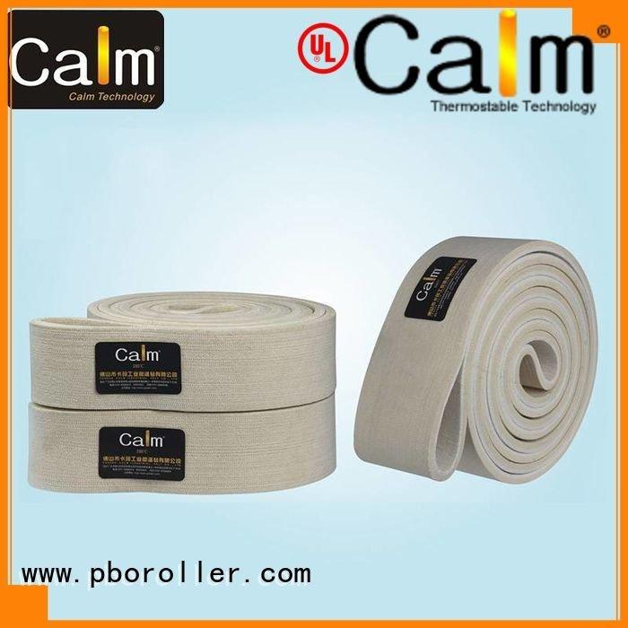 Calm Industrial Felt Brand low seamless industrial conveyor manufacturers ring 180°c