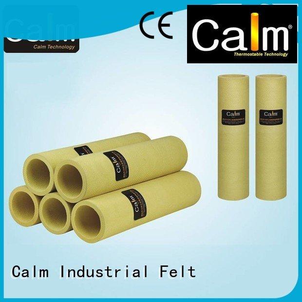 pbokevlar600°c felt black felt roll 180°c felt roll Calm Industrial Felt Brand pbo roller