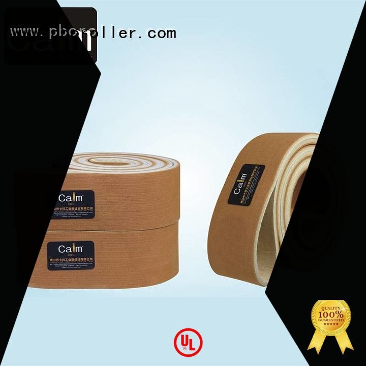 Calm Industrial Felt Brand felt ring industrial conveyor manufacturers 600°c 180°c