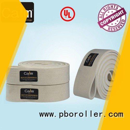 Hot industrial conveyor manufacturers ultrahigh felt belt conveyor Calm Industrial Felt