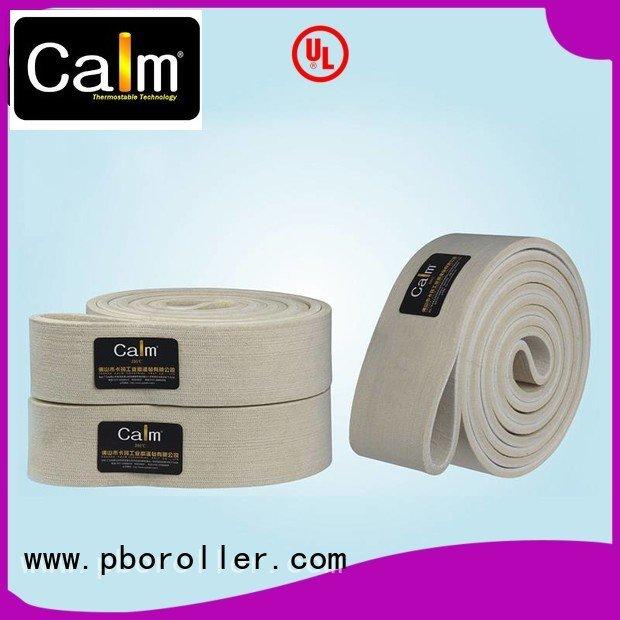 industrial conveyor manufacturers 600°c 280°c OEM felt belt Calm Industrial Felt