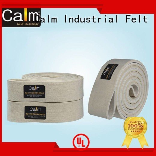 industrial conveyor manufacturers ring felt belt 280°c Calm Industrial Felt
