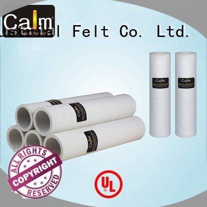 black felt roll pe pbo felt roll Calm Industrial Felt Brand
