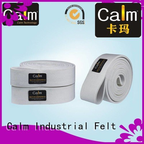 Calm Industrial Felt industrial conveyor manufacturers conveyor middle tempseamless