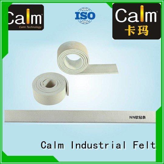thin felt strips nomex side Calm Industrial Felt Brand