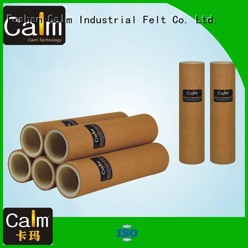 pe pbo roller Calm Industrial Felt felt roll