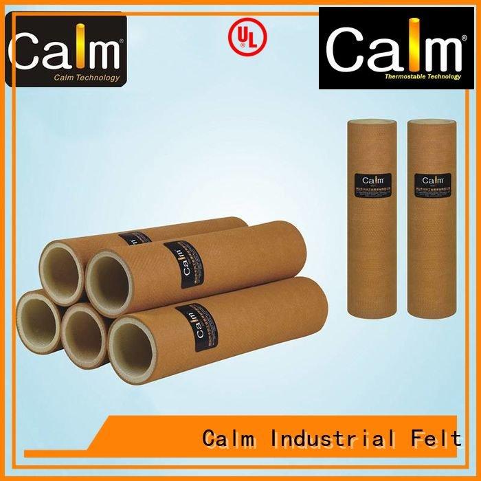 Calm Industrial Felt Brand pe black felt roll high tempresistance
