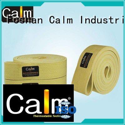 Calm Industrial Felt industrial conveyor manufacturers ring 180°c belt